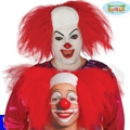 Calva payaso clown pelo rojo it
