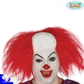 Calva payaso pelo rojo clown asesino it