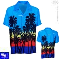Camisa hawaiana tropical
