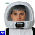 Casco astronauta espacial Huoston grd.