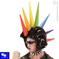 Casco hinchable cresta pinchos punk gay sado