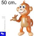 Mono hinchable decoracion fiestas 50 cm.