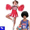 Disfraz animadora cheer leader basquet USA