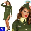 Disfraz chica militar sexy Andrew Sisters pin up