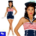 Disfraz marinera pin up sailor
