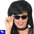Gafas Lady Rock NGR tipo Grease Pin Ladies oscuras