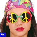 Gafas Hippie fiesta flower power multicolor