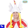Gorro animales pollo gallina