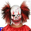 Mascara payaso sangriento clown sanguinario pelo