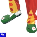 Zapatos de Payaso Clown de goma VER