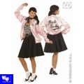 Grease Chaqueta Pink Ladies Pin Up tipo grease