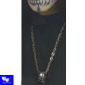 Collar Calavera Metalico