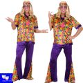 Disfraz Hippie Chico Multicolor