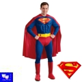 Disfraz Superheroe Superman Musculado Adulto