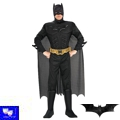 Disfraz Superheroe Batman Musculado Adulto