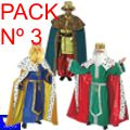A-Pack-Nº3 A Disfraces Reyes Magos -** ULTIMOS PACKS **